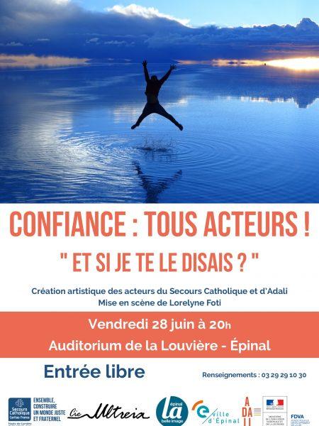 CONFIANCE Tous acteur - Flyer